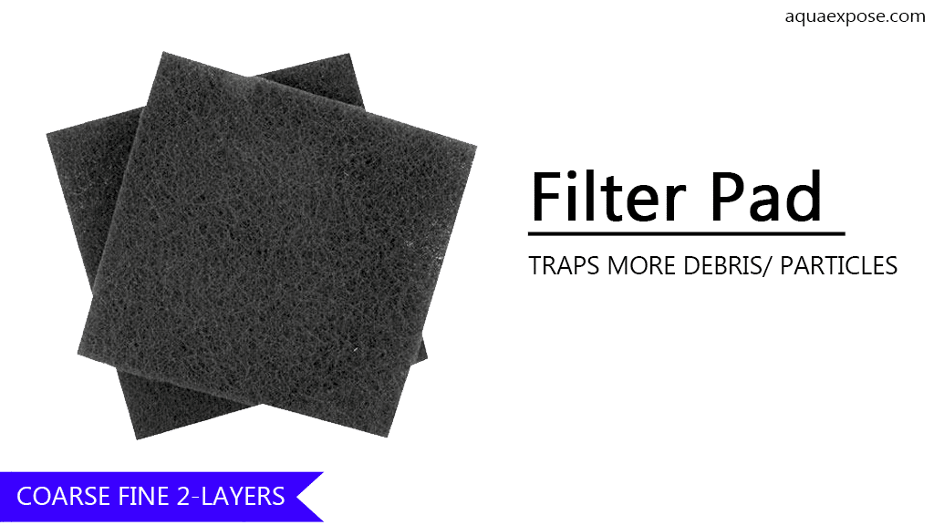 Filter Pad Media is one of the cheapest filter media for Aquarium